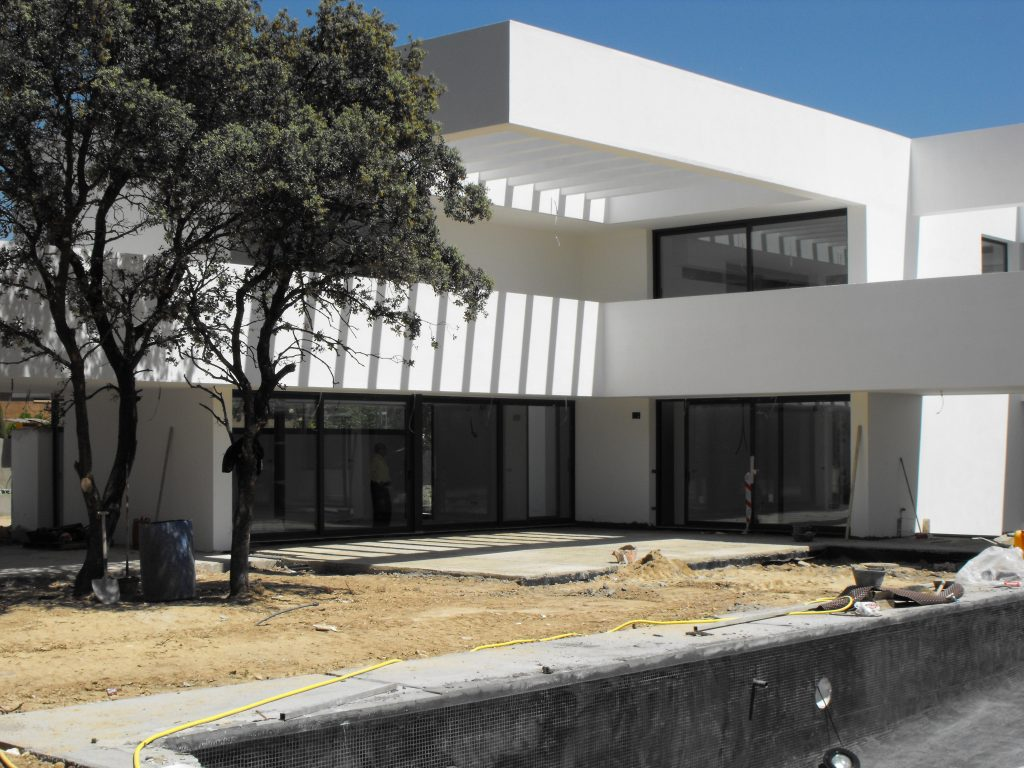 Ventanas de aluminio Madrid ACH Aluminio Technal Obra nueva
